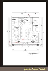 layout denah cafe bab ii gambar dan produk desain interior docx bab ii gambar dan