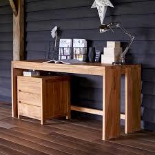 Schreibtisch Massivholz Schreibtisch Holz Natur Rheumri Com
