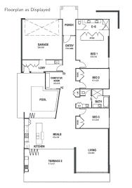 Sanctuary Floor Plans by The Casuarina Home U2014 Sanctuary 28 Custom Home Builder Gold