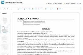 terrific linkedin resumes 2 resume builder comparison resume example