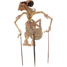 original leather shadow puppet wayang vianova ruby