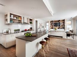 Kitchen And Family Room Ideas New Open Floor Plan Kitchen And Family Room The House Ideas