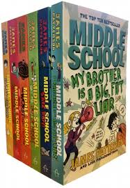 patterson middle school 6 books collection pack set