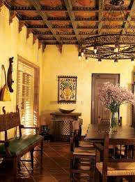 what to do with the walls terracotta floor warm colors and