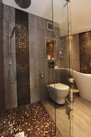 Stone Glass Mosaic TileSsmoky Mountain Square Tiles With Marble - Design tiles for bathroom