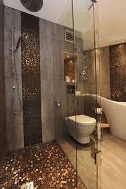 Stone Glass Mosaic TileSsmoky Mountain Square Tiles With Marble - Design tiles for bathroom