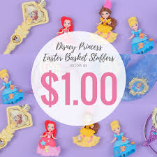 princess easter baskets disney princess easter basket stuffers as low as 1