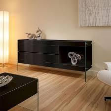 Small Black Gloss Sideboard Glossy Black Buffet Sideboard U2014 New Decoration Romantic Dining