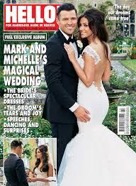 hello wedding dress keegan talks wedding dress in hello magazine