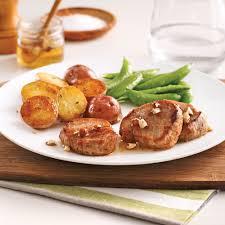 cuisine au miel médaillons de porc au miel et noisettes recettes cuisine et