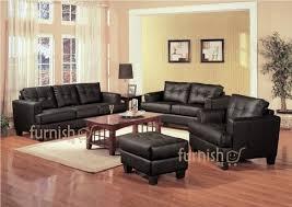 Wooden Living Room Furniture Sets Ukachi Modern Living Room Furniture Set 3 2 1 Leather Sofa Set
