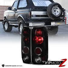 sinister black l r light l assembly ford 1989 1996 f150