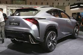 lexus truck nx lexus lf nx turbo concept hits the 2013 tokyo motor show floor