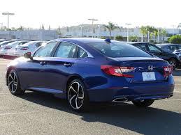 2018 new honda accord sedan sport cvt sedan at honda of escondido
