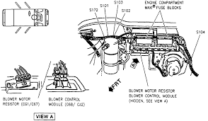 1992 dodge dakota blower motor wiring diagram dodge wiring