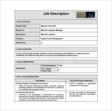 treasurer job description template