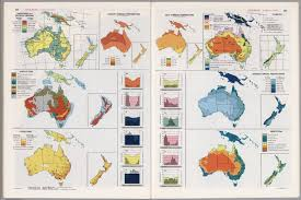 Map Of Oceania Oceania Thematic Maps David Rumsey Historical Map Collection
