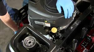 how to change lawn mower oil u0026 oil filters toro timecutter youtube