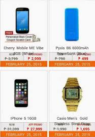lazada philippines mobile power sale this february 25