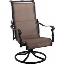 high back swivel rocker patio chairs chair design