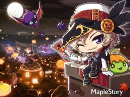 free to use halloween background 不気味 maplestory phantom says happy halloween feel