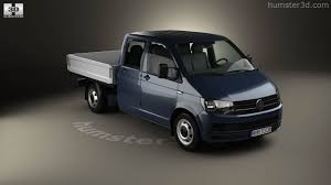 volkswagen pickup 2016 360 view of volkswagen transporter t6 double cab pickup 2016 3d