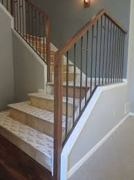 Wood Banisters And Railings Best 25 Interior Railings Ideas On Pinterest Staircase Spindles