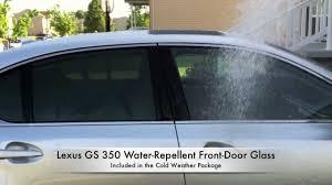 openroad lexus richmond facebook lexus water repellent glass helps drivers battle rain openroad