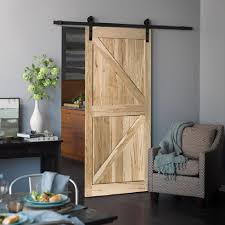 noteworthy home depot solid wood door barn door sliding barn door