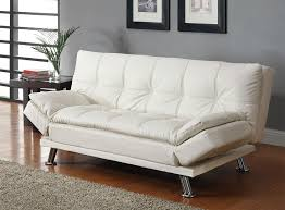 White Sofa Bed Black Leatherette Sofa Bed Collection Co91b Sofa Beds