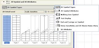 Stair Floor Plan Symbol Settings Stairmaker Help Center Archicad Bimx Bim