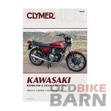 kawasaki 80 83 kz550 repair manual old bike barn