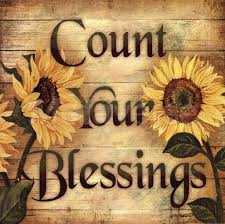 sunflower decorating count your blessings wall decor at