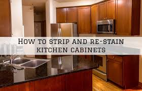 can you stain finished cabinets how to and re stain kitchen cabinets clinton township