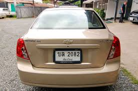 2006 chevrolet optra 1 6 m t lpg second hand cars in chiang mai