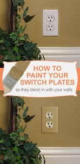 painted light switch covers painting switch plates how to paint wall plate covers tips ideas