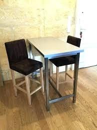 table de cuisine haute avec tabouret table haute et tabouret de bar tabouret de bar de cuisine table bar