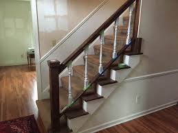 Best Paint For Stair Banisters Rachel Schultz Painting The Stair Spindles