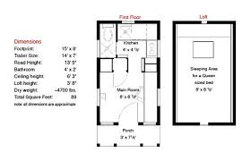 home plans free epu floor plan 15 ft tiny house trailers