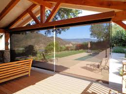 Wind Screens For Patios by Outdoor Curtains Drapes And Shades Superior Awning