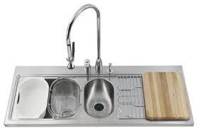 Double Kitchen Sink Stainless Steel Kitchen Topmount Sinks - Kohler double kitchen sink