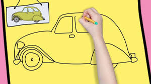 how to draw a car easy for kids simple and easy drawing for kids