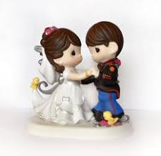 marine wedding cake toppers hand painted marine cake topper wit