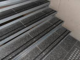 interior wood stairs with non slip stair treads with regard to