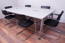 Herman Miller Meeting Table Office Resale Herman Miller Abak 6 8 Seater Meeting Table