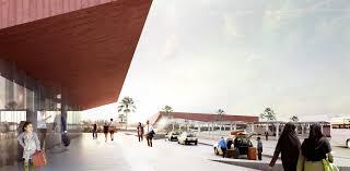 B Om El Design Narrowminded Bom Propose New Central Bus Station For Marrakech