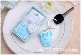 baptism keychain favors free shipping wholesale baby boy baby girl keychain birthday party