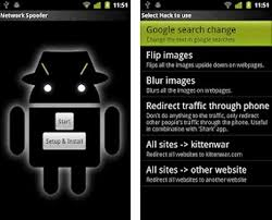 spoofapp apk top 15 android hacking apps 2014 security