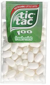 tic tac tic tac 100 fresh mint 49 g pack of 12 co uk grocery