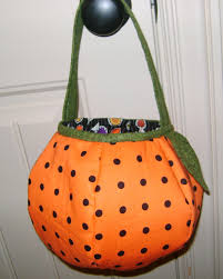 pumpkin trick or treat bag sewing pattern kathan pinterest